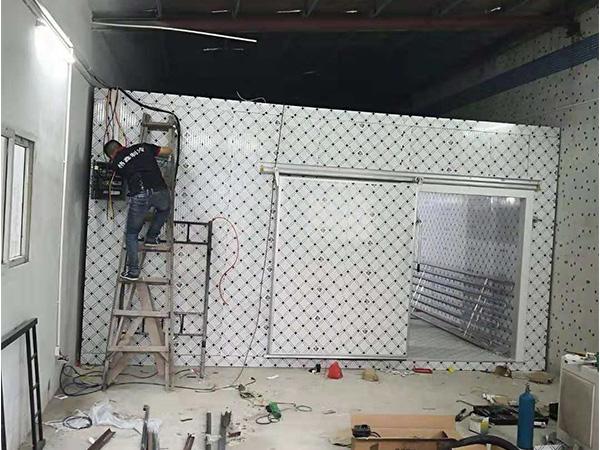 海吉星铝排冷冻库